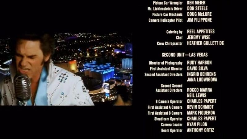 Курт Рассел с песней из фильма 3000 Миль до Грейсленда