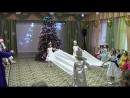 Вика танцует танец снежинок. Встречаем 2018 год.