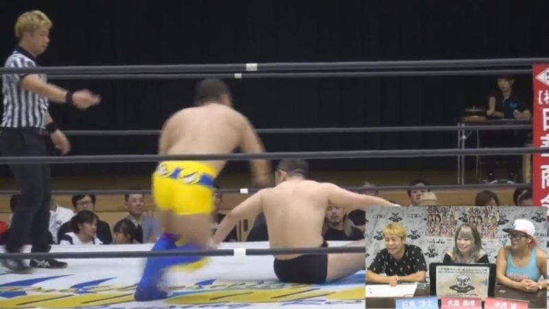 Keisuke Goto vs. Kotaro Nasu (WAVE - Osaka Rhapsody Vol. 34)