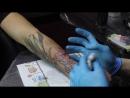 Как я делаю татуировки Мини мастеркласс