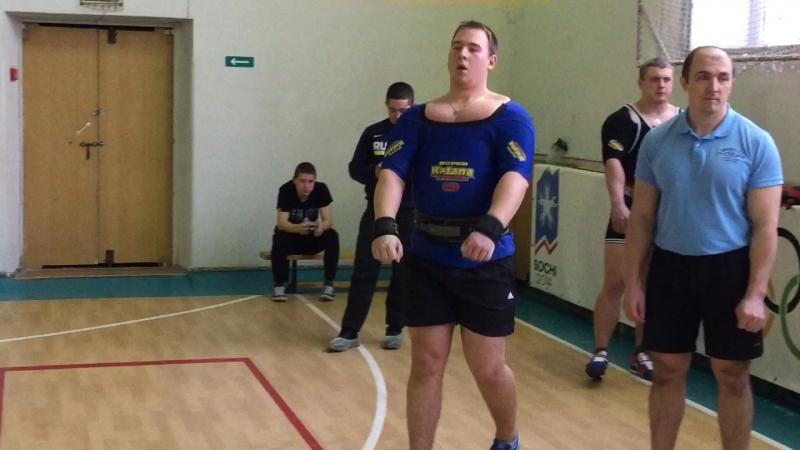 Клевцов Иван 207.5 кг