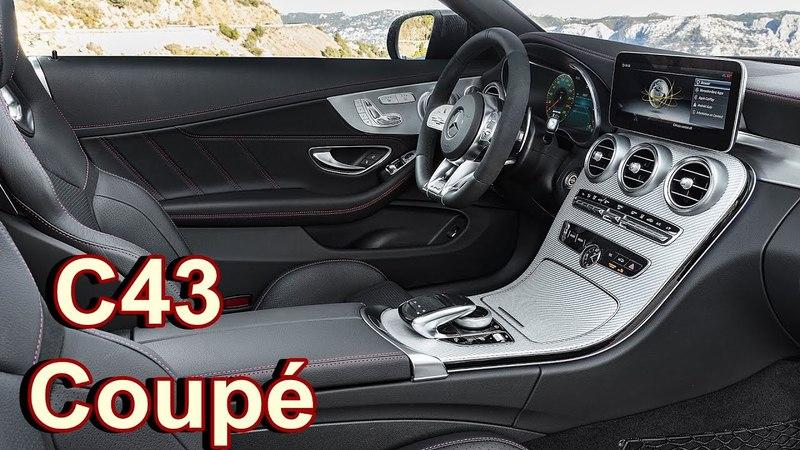 2019 Mercedes-Benz C43 Coupé - INTERIOR