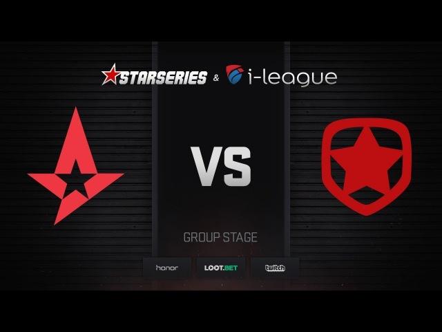 Astralis vs Gambit, map 1 cache, StarSeries i-League Season 4 Finals