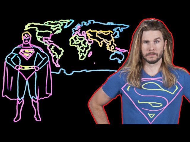 Why You Would Not Want Superman To Reverse Time! (Because Science w Kyle Hill)