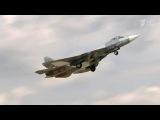 Над базой Хмеймим вСирии Су-57— новейшие истребители сфантастическими возможностями