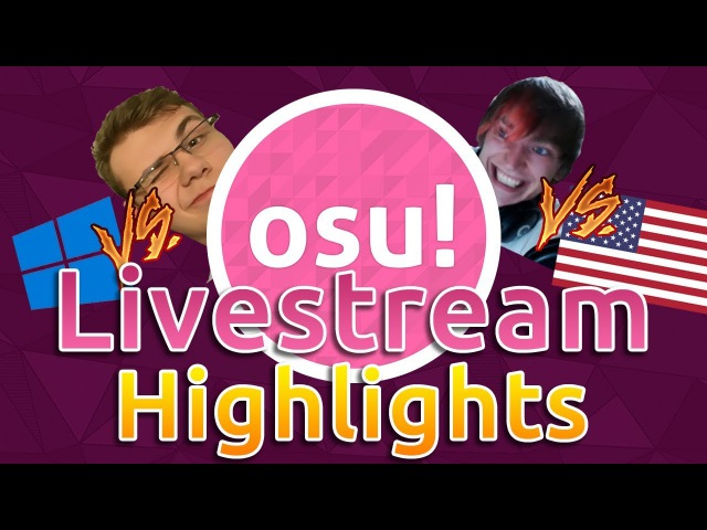 Osu Livestream Highlights MouseEasy God mode OWC Grandfinal Reactions RyuK 727pp Reaction