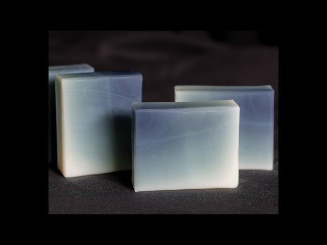 Column Pour Ombre Gradient Soap - Cold Process Soap
