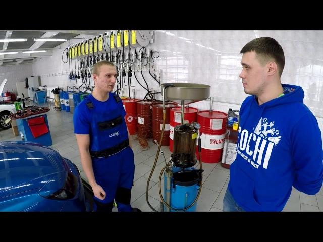Спор о способах замены масла в двигателе. Обзор автостанции Экспресс АЗС