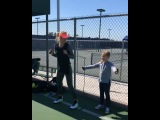 """Victoria Azarenka on Instagram: """"Inspire youth, inspire your kids, they are our future!"""""""