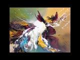 Acrylmalerei-Einfach Malen-Acrylic Painting-Easy Painting-The Glade