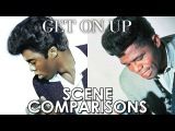 James Brown and Chadwick Boseman  Get on Up (2014) - scene comparisons