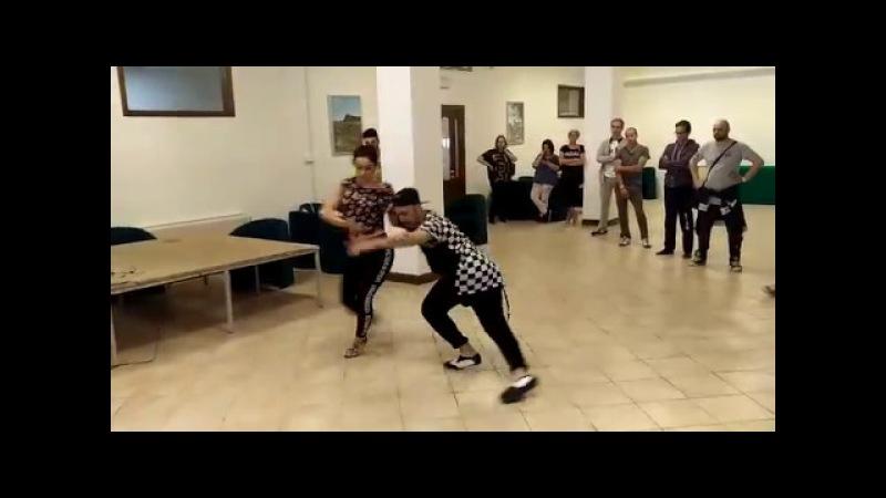 Alessandro Basta e Rossella Margutti / Stage Salsa Cubana