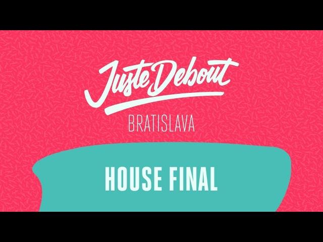 Juste Debout Bratislava 2018 - House Final - Aru Kaide vs. Adam Eva | Danceproject.info