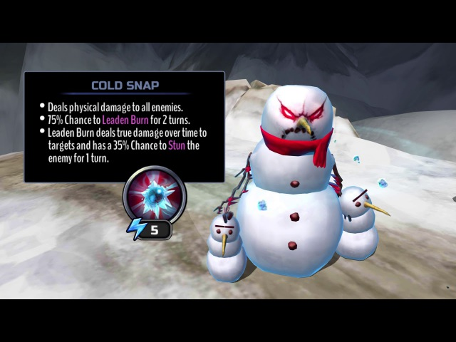 Iron Maiden: Legacy of the Beast - The Warrior Possessed Snowman Attacks