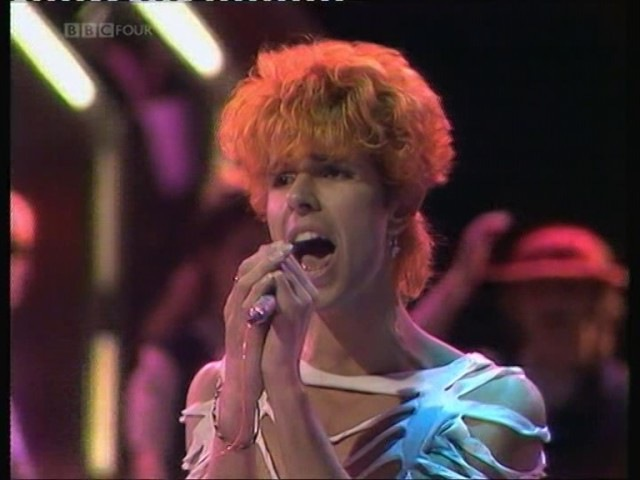 1982 TOTP - Cry Boy Cry - Blue Zoo