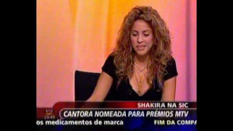 Shakira na SIC 02 11 2005 3