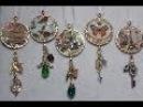 DIY~Beautiful Christmas Ornaments Using Dollar Tree Calendars! Collab W/Craftie!