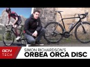 Simon Richardson's Custom Orbea Orca Disc
