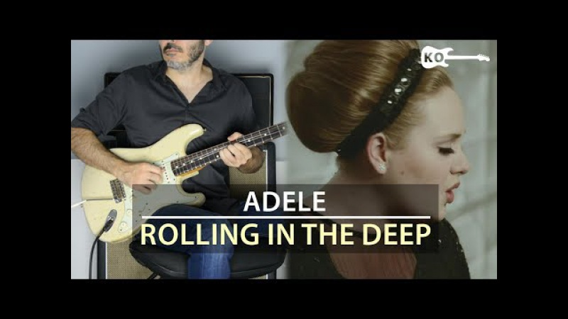 Adele - Rolling in the Deep - Electric Guitar Cover by Kfir Ochaion