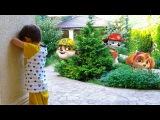 Развлечения для детей Игрушки Щенячий патруль Indoor Playground Kids Family Fun Nursery Rhyme song