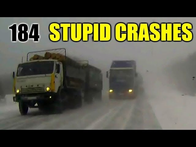 Stupid driving mistakes 184 (March 2018 English subtitles)