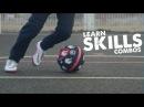 How to learn skill combos - Ronaldo/Neymar/Ronaldinho skills - Day 24 of 90