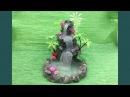 DIY : Hot glue waterfall (updated)    Miniature craft    Lets make Art