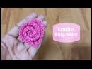 How to crochet a rosy heart Crochet