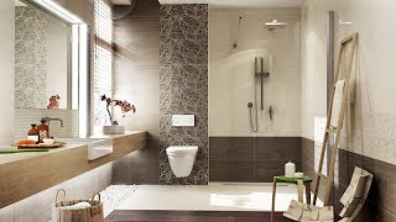 Бежевый и коричневый ванной Doppia / Doppio - WWW.BRIGADA1.LV Ceramiki Paradyż