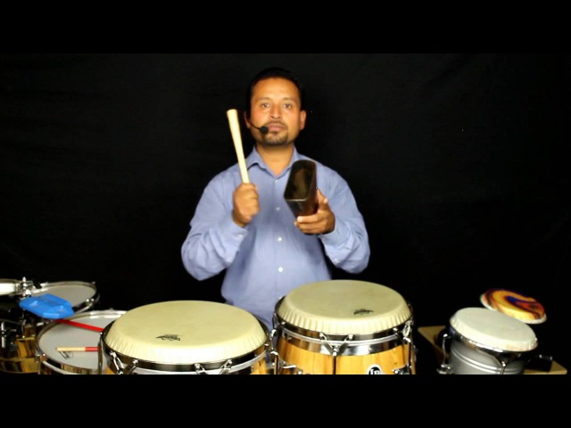 Salsa Timing Lesson by Salsa Instructor Alejandro Sol wiht Live Percussion