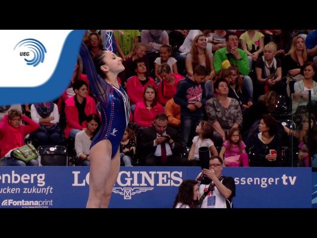Martina BASILE (ITA) – 2016 Juniors European Championships – All-Around, Floor