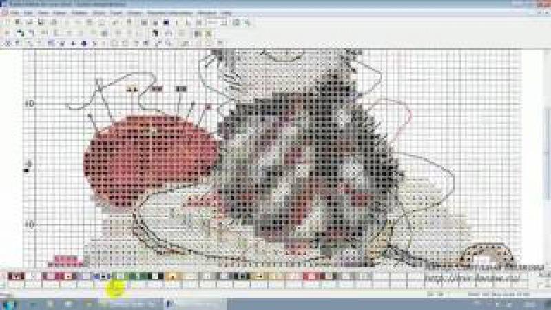 Pattern Maker v4 Pro перенабор схемы ч 3 крест и полукрест