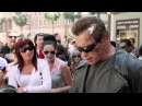 Арнольд Шварценеггер разыграл прохожих перед премьерой Треминатор Генезис (Terminator Genesis))