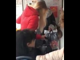 Бабка скандалит в трамвае. Краснодар 12 Марта 2018