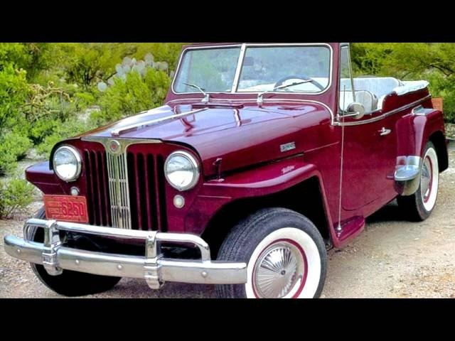 Willys Overland Jeepster VJ 04 1948–49