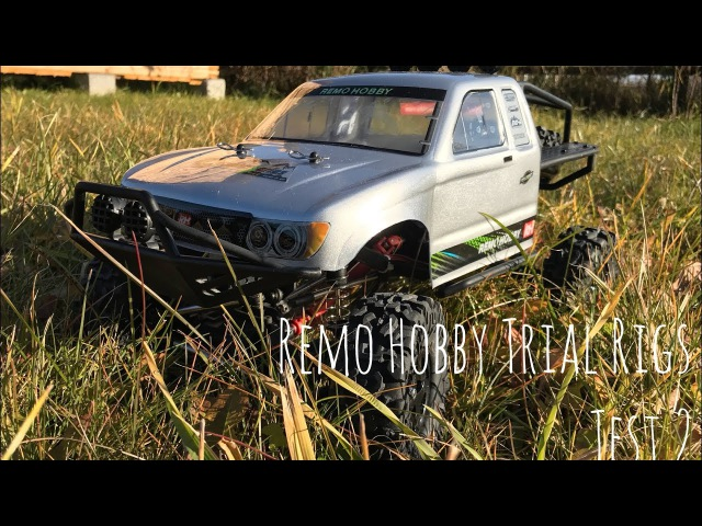 Remo Hobby Trial Rigs Truck test drive continued off-road