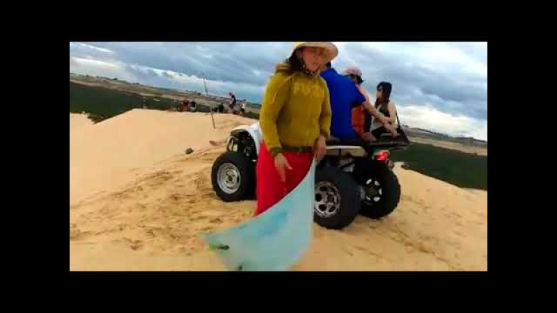 Муйне . Белые и красные дюны .
