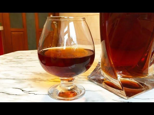 Домашний Коньяк / Коньяк на Дубовой Щепе / Коньяк из Самогона / Cognac of Moonshine / Простой Рецепт