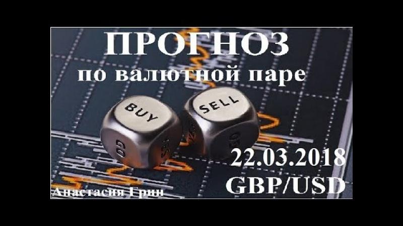 Прогноз по фунт доллар (GBP/USD) на 22.03.2018