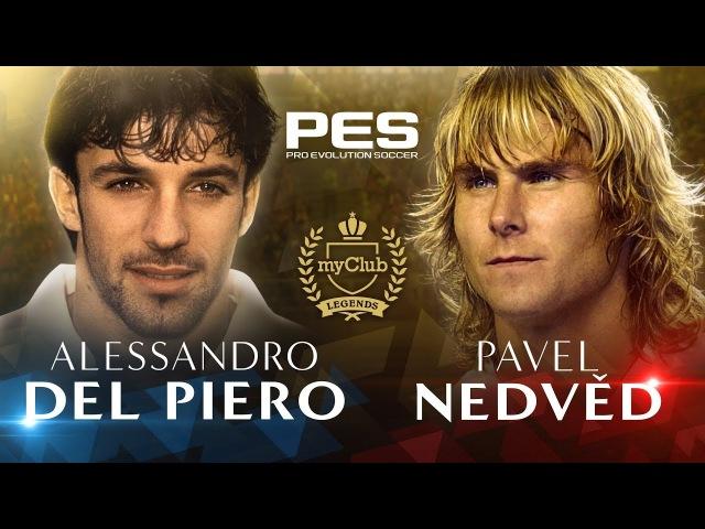 PES 2018 - Del Piero and Nedvěd Legends Trailer