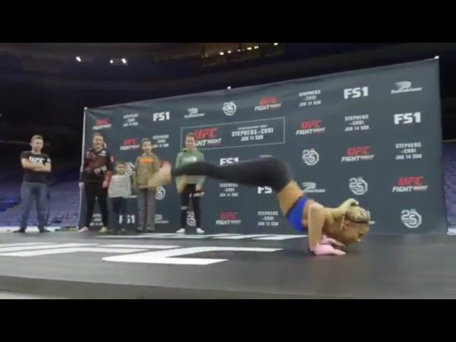 Instagram post by Paige VanZant So Blessed Jan 13 2018 at 2 21am UTC