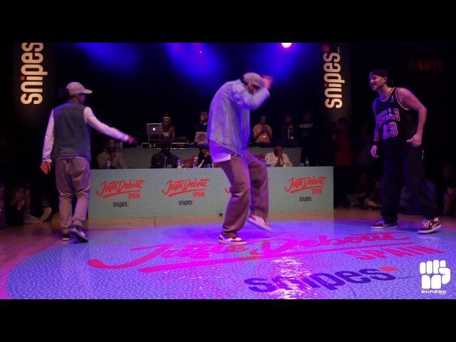 Juste Debout Spain 2018 Locking Final | BCNLOCK vs Légendes Urbaines | Danceproject.info
