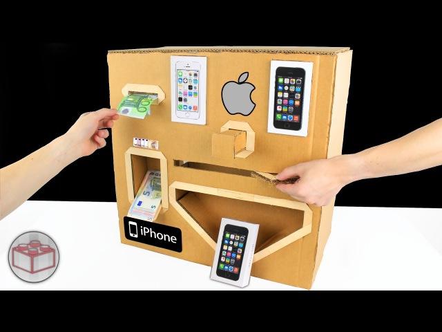 Как сделать автомат по продаже Apple iPhone из картона