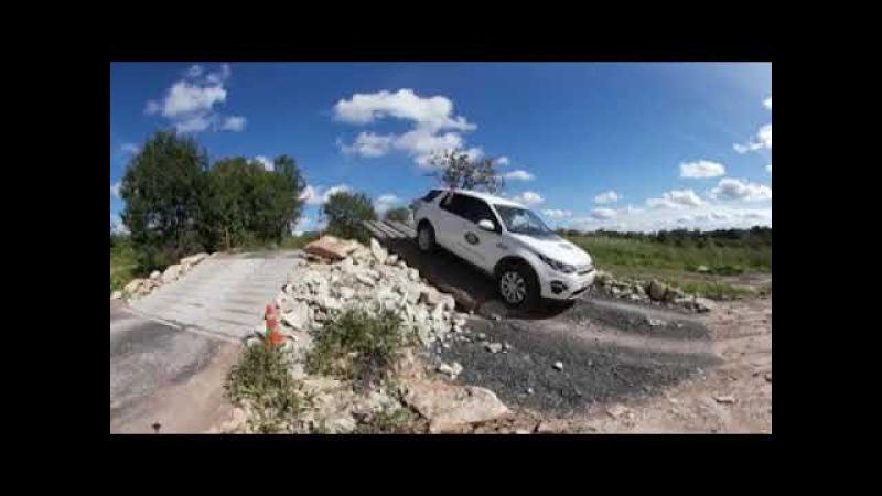Видео в 360 градусов с эффектом дополненной реальность для проекта 360cars ru injected
