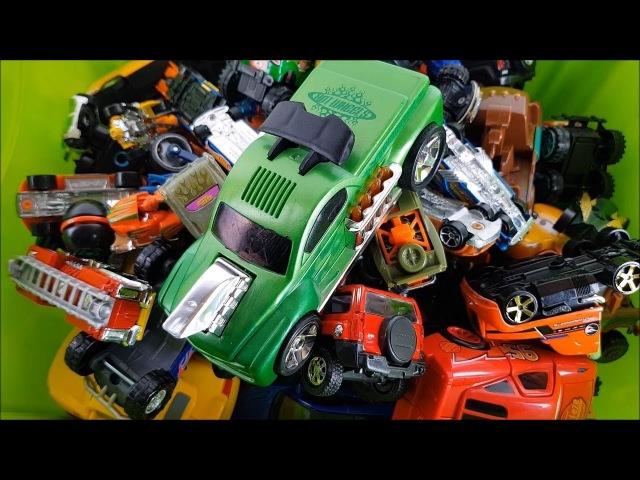 Box Full of Cars Toys Video for kids