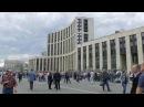 ВМоскве напроспекте Академика Сахарова проходит митинг оппозиции. Новости. П