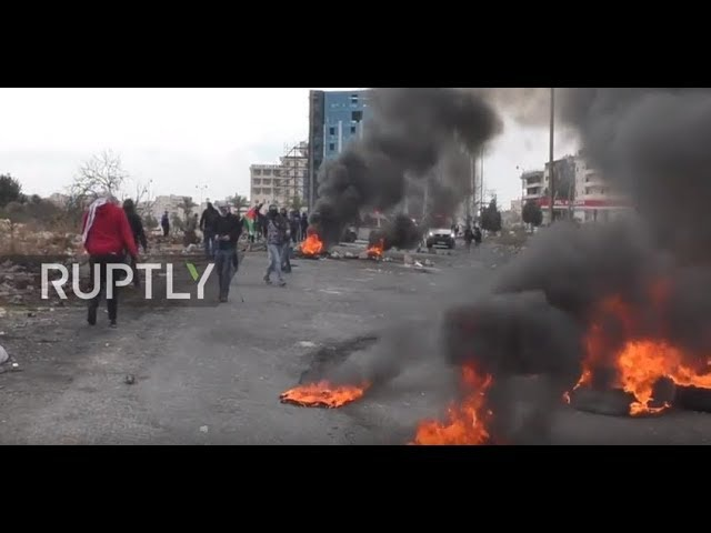 Clashes near Beit El
