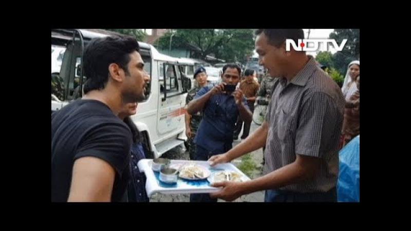Jai Jawan: Sushant Singh Rajput Takes A Tour Of The Local Market