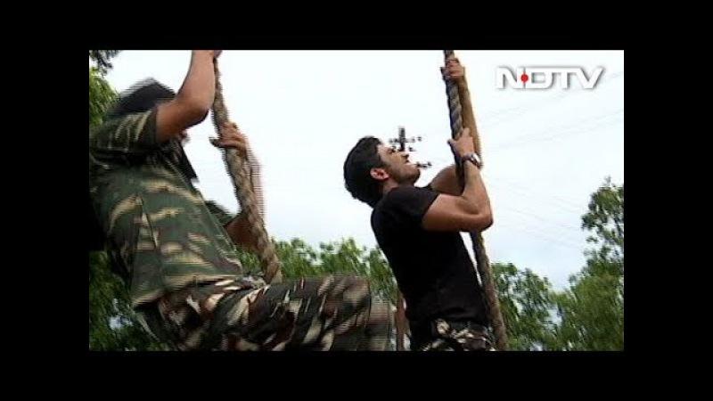 Jai Jawan: Actor Sushant Singh Rajput Learns The Tricks Of Rope Climbing
