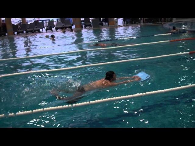 Мастер класс по плаванию с Постовым А.И.Кишинев Ниагара центр 12